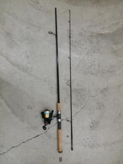 Brand new St.croix premier rod and daiwa ss700 spinning reel with new line selling as a set
