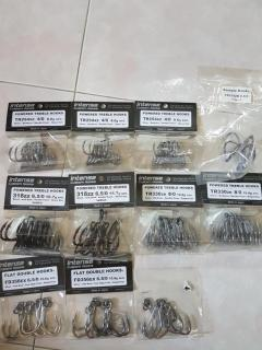 WTS Carpenter Lures and hooks