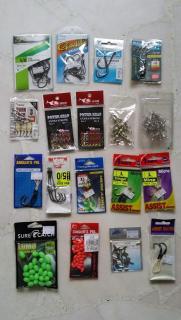 Hooks, Assist hooks & swivels (PRICE LOWERED)