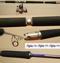Custom Ripple Fisher rod  and TwinPower 12000hg