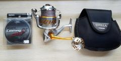 Stella 8000 SW (10000xg body ) comes with jigging master knob and varivas pe5 line ( SMP )