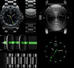Ima X Luminox Shibumi watch