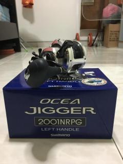 OCEA JIGGER 2001 NRPG(LEFTY)