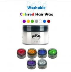 Washable Color Hair Wax (So you look better while taking photos with fishes)