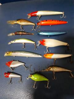 Unknown lures that catches fish.