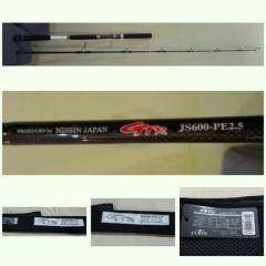SELL: Mint Nissin GTR Light Jigging Spin Rod PE2.5, 6ft