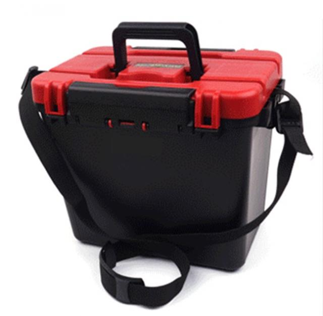 Hard abs fishing tackle box seat box for Best fishing tackle box