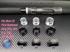 Rod Building Locknut Sets For Fuji Reelseats 17 18 20