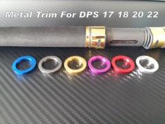Rod Building Metal Trims For Fuji DPS 17 18 20 22