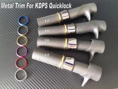 Rod Building Metal Trim For Fuji KDPS Quicklock 17 18 20 22
