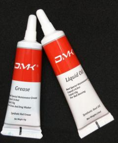 DMK Fishing Reel Grease and Liquid Oil