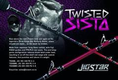 NEW 2017 Model! Jigstar Twisted Sista