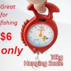 Weighing Scale (0 - 10Kg) for Fishing - Portable