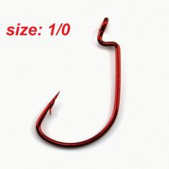 Premium Slim Point Fishing Hook (size 1/0) - Very Effective!