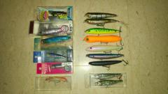 Jdm lures clearance 3sets total 35pcs