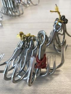Assorted Branded Treble Hook