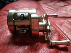 Daiwa Ryoga 1016HL + HEDGEHOG STUDIO bearing + Basszone knob full box