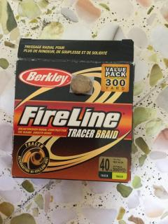 Fire line 40 lb.