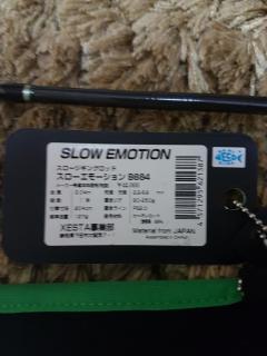 Xesta Slow Emotion Slow Jigging Rod B684 PE2