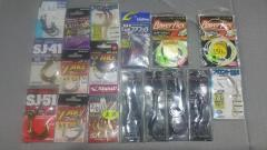 Assorted Jigging and Assist Hooks.