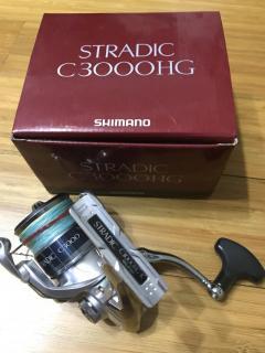 WTS shimano stradic C 3000 HG