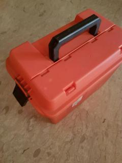 Plano orange tackle box 16x10x13