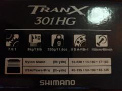 Shimano Tran X 301HG lefty
