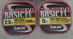 Sunline Basic Fluro 10lb/16lb/20lb