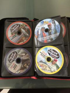 Fishing DVDs and CDs
