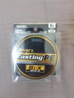 Varivas Casting PE Si-X PE6
