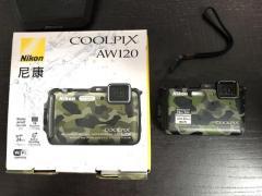 Nikon CoolPix AW120 good for jungle bashing