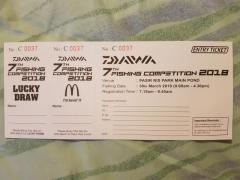 Daiwa 7th fishing competition