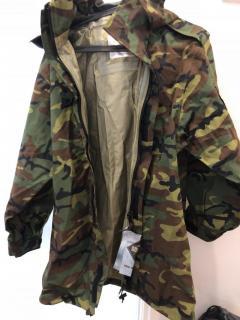 Camou raincoat