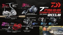 Daiwa fishing competition tic
