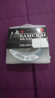 Daiwa samurai braid