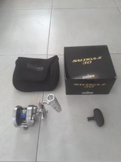 Daiwa Saltiga Z30 with T-bar handle