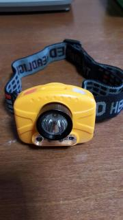 Hand wave gesture headlight for fishing and luring