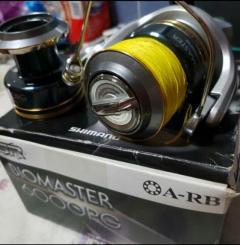 Shimano biomaster 6000PG (with extra spool)