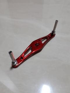 Daiwa Aluminium Baitcast Handle Full Red