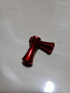 Aluminium Red Reel knobs