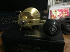 Ocea Conquest 301HG + wiki jigging knob