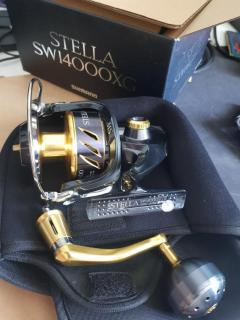Stella 14k with yemuya knob
