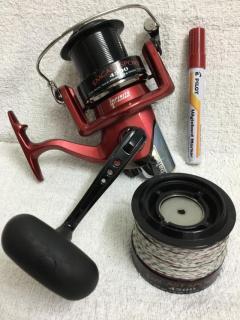 Daiwa Emcast Spory 4500 with spare spool, condition 9.9/10