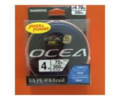 SHIMANO OCEA EX8 PE#4 300M