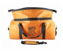 Waterproof Duffel Bag (55L) Orange