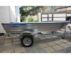 Aluminum Boat Kimple AB-E370 (370 Catch)