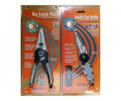 (SOLD)Big Catch Pliers & Swift Cut Knife