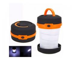Folding portable led camping light /mini camping lantern