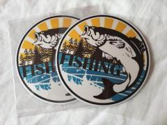 (INSTOCK) FISHING STICKER DECAL