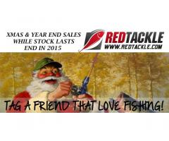Xmas & Year End Sales for all ANGLERS!